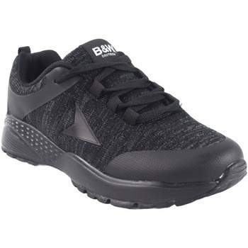 Sapatos Mulher Sapatilhas B&w Sapato de senhora preto  28113 Preto