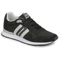 Sapatos Homem Sapatilhas Jack & Jones JFW STELLAR MESH 2.0 Preto / Branco