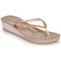 Sapatos Mulher Chinelos Isotoner FRADA Bege
