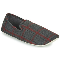 Sapatos Homem Chinelos Isotoner FILOMENA Cinza / Vermelho