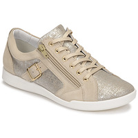 Sapatos Mulher Sapatilhas Pataugas PAULINE/T F2G Bege / Ouro