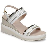 Sapatos Mulher Sandálias Lumberjack ELAINE Branco / Bege