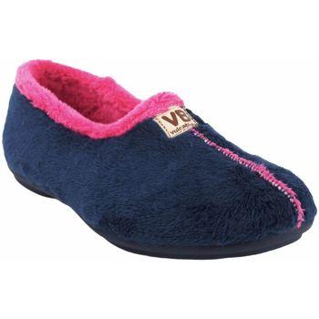 Sapatos Mulher Chinelos Vulca Bicha Vá para casa senhora  4306 azul Bleu