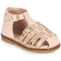 Sapatos Rapariga Sandálias Aster NINI Rosa