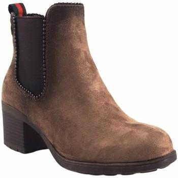 Sapatos Mulher Botas baixas Olivina Lady saque BEBY 19025 taupe Castanho