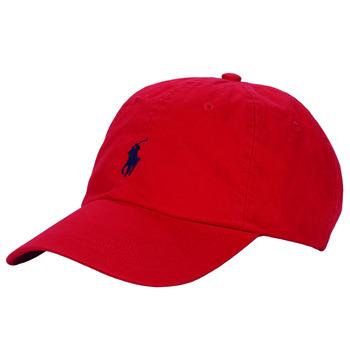 Acessórios Homem Boné Polo Ralph Lauren HSC01A CHINO TWILL Vermelho