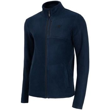 Textil Homem Casaco polar 4F PLM003 Azul marinho