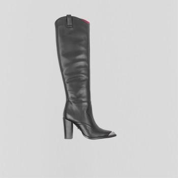 Sapatos Mulher Botas Bronx Bottes femme  New-Americana noir