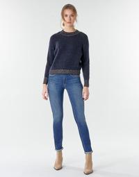 Textil Mulher Calças Jeans Le Temps des Cerises PULP HIGHREG Azul / Claro