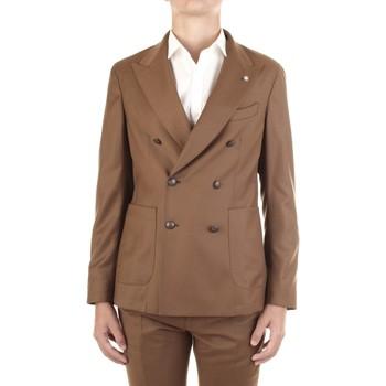 Textil Homem Casacos/Blazers Manuel Ritz 2932G2738Y-200501 Bege