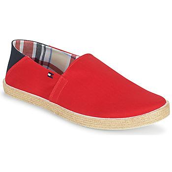 Sapatos Homem Alpargatas Tommy Hilfiger EASY SUMMER SLIP ON Vermelho