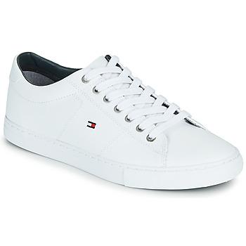 Sapatos Homem Sapatilhas Tommy Hilfiger ESSENTIAL LEATHER SNEAKER Branco