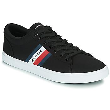 Sapatos Homem Sapatilhas Tommy Hilfiger ESSENTIAL STRIPES DETAIL SNEAKER Marinho