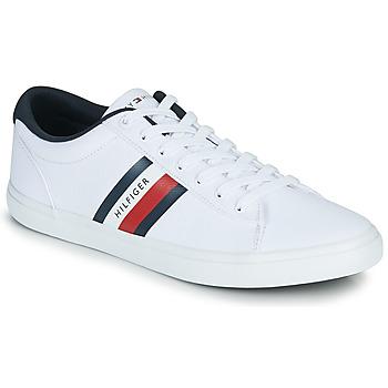 Sapatos Homem Sapatilhas Tommy Hilfiger ESSENTIAL STRIPES DETAIL SNEAKER Branco