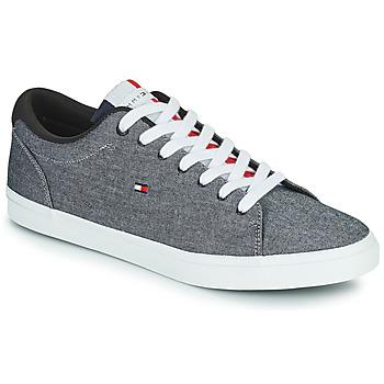 Sapatos Homem Sapatilhas Tommy Hilfiger ESSENTIAL CHAMBRAY VULCANIZED Cinza