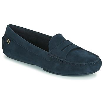 Sapatos Mulher Mocassins Tommy Hilfiger TOMMY ESSENTIAL MOCCASIN Marinho