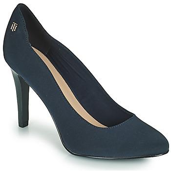 Sapatos Mulher Escarpim Tommy Hilfiger TOMMY ESSENTIAL HIGH HEEL PUMP Marinho