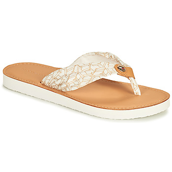 Sapatos Mulher chinelos Tommy Hilfiger LEATHER FOOTBED TH BEACH SANDAL Branco