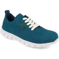 Sapatos Mulher Sapatilhas Cdn ECO01 Azul