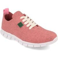 Sapatos Mulher Sapatilhas Cdn ECO01 Rosa