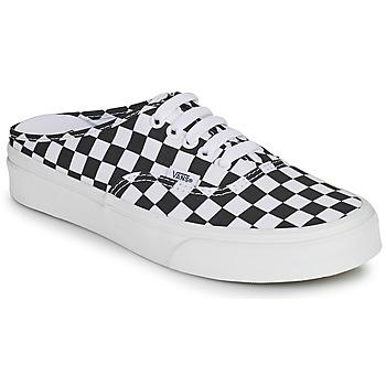 Sapatos Chinelos Vans AUTHENTIC MULE Preto / Branco