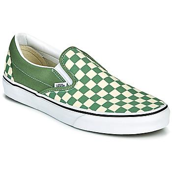 Sapatos Homem Slip on Vans CLASSIC SLIP ON Verde