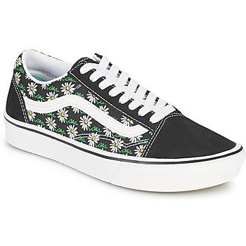 Sapatos Mulher Sapatilhas Vans COMFYCUSH OLD SKOOL Preto / Branco