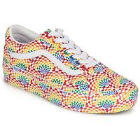 Sapatos Mulher Sapatilhas Vans OLD SKOOL PLATFORM Multicolor
