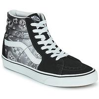 Sapatos Mulher Sapatilhas de cano-alto Vans SK8 HI Preto / Branco