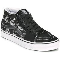 Sapatos Sapatilhas de cano-alto Vans SK8 MID Preto / Branco