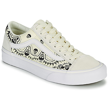 Sapatos Sapatilhas Vans STYLE 36 Bege / Preto