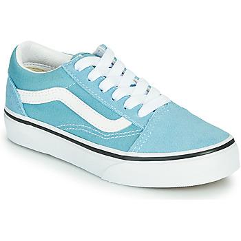 Sapatos Rapaz Sapatilhas Vans OLD SKOOL Azul