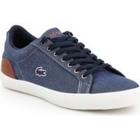 Sapatos Homem Sapatilhas Lacoste Lerond 317 2 CAM 7-34CAM00422Q8 granatowy, brown