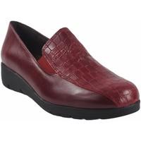 Sapatos Mulher Mocassins Bellatrix Lady sapato  10505 vermelho Vermelho
