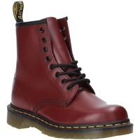 Sapatos Mulher Botins Dr Martens DMS1460CRSM10072600 Vermelho