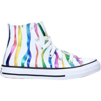 Sapatos Criança Sapatilhas Converse 667600C Branco