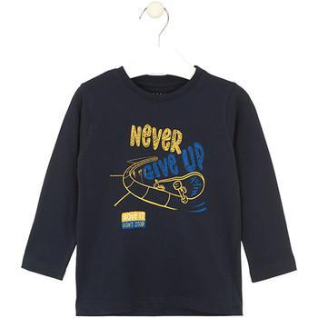 Textil Criança T-shirts e Pólos Losan 025-1635AL Azul