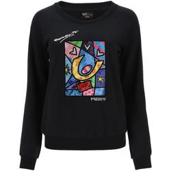Textil Mulher Sweats Freddy F0WBRS4 Preto