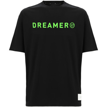Textil Mulher T-shirts e Pólos Freddy F0ULTT3 Preto