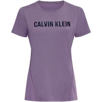 Textil Mulher T-shirts e Pólos Calvin Klein Jeans 00GWS0K195 Tolet