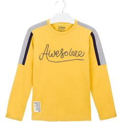 Textil Criança T-shirts e Pólos Losan 023-1008AL Amarelo