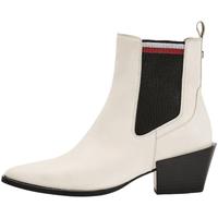 Sapatos Mulher Botins Tommy Hilfiger FW0FW05166 Branco
