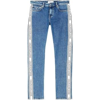 Textil Homem Calças de ganga Calvin Klein Jeans J30J316018 Azul