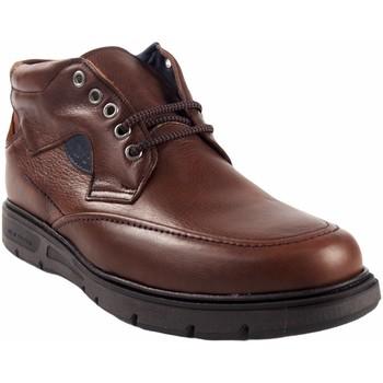 Sapatos Homem Botas baixas Riverty 619 castanhos Castanho