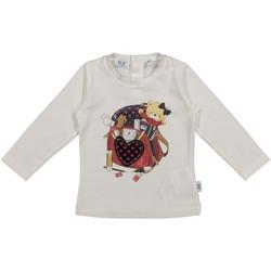 Textil Criança T-shirts e Pólos Melby 20C0361 Branco