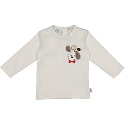 Textil Criança T-shirts e Pólos Melby 20C2150 Branco