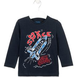 Textil Criança T-shirts e Pólos Losan 025-1201AL Azul