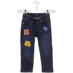 Textil Criança Calças de ganga Losan 025-6037AL Azul