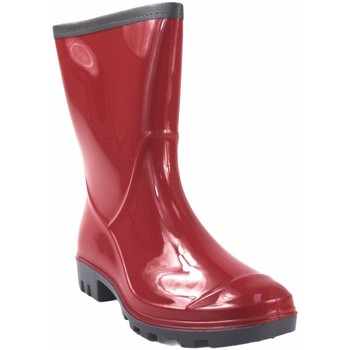 Sapatos Mulher Botas de borracha Kelara k91101 bota  senhora vermelha Rouge