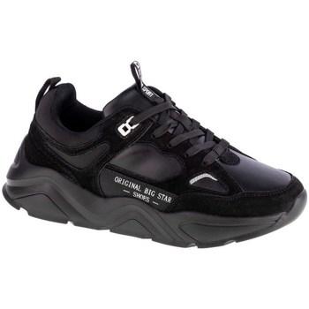 Sapatos Mulher Sapatilhas Big Star GG274654 Preto
